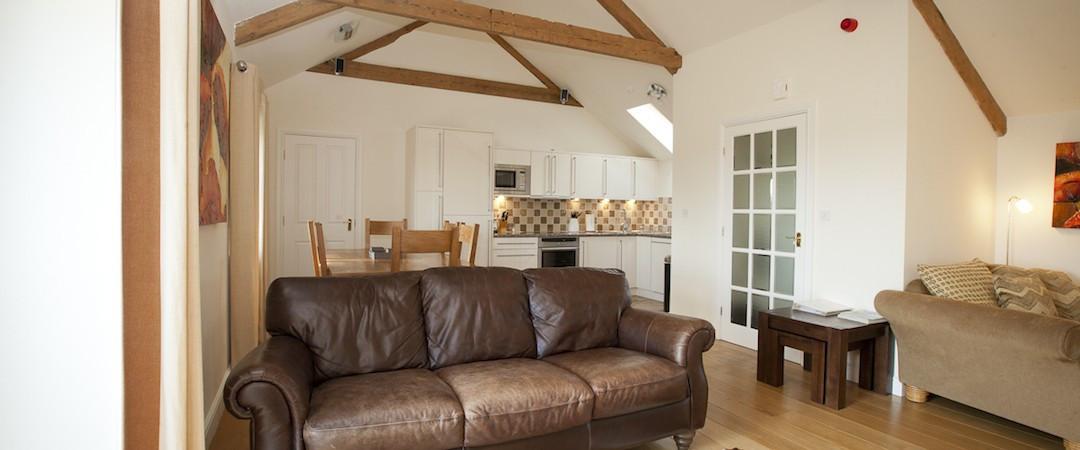 The Hayloft - Livingroom