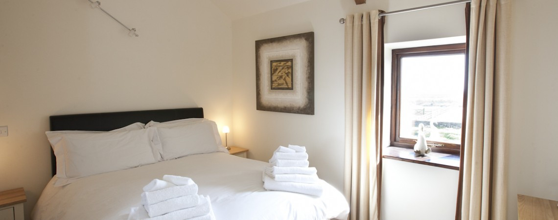 The Hayloft - Master Bedroom