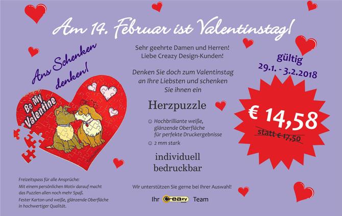 2. Valentinstag-Aktion