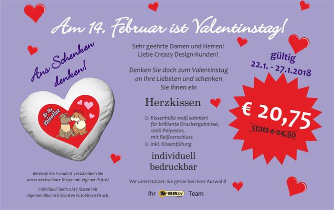 1. Valentinstag-Aktion
