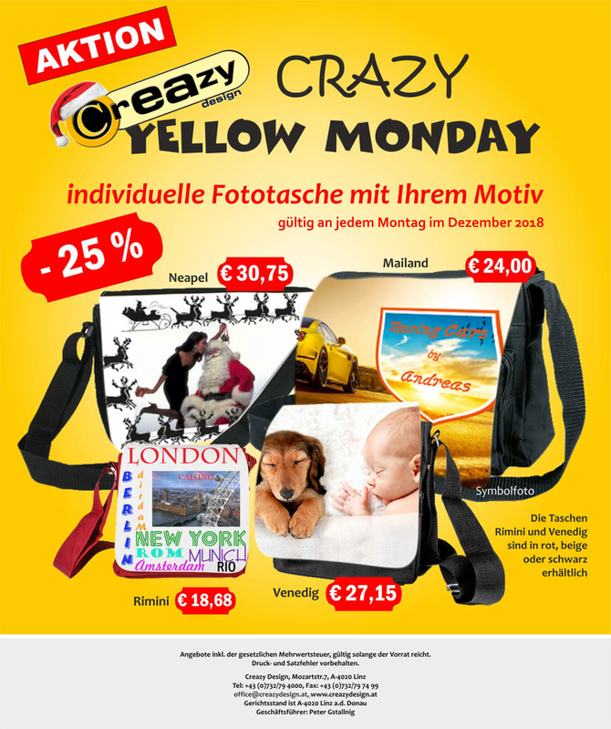 Crazy Yellow Monday
