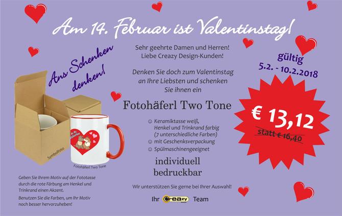 3. Valentinstag-Aktion