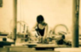 Nadine Coquatrix Table mosaique