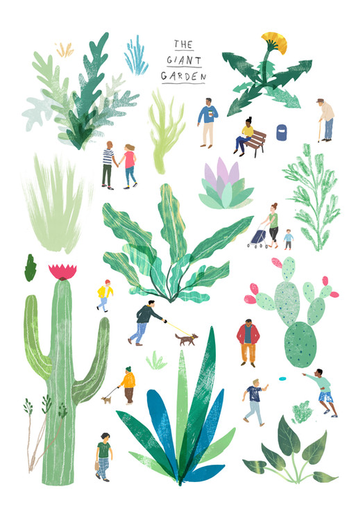 Giant Garden - The Positive Print Company