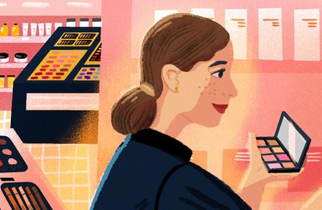 Prima Magazine - Editorial Illustration