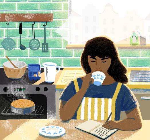 Good Housekeeping - Editorial Illustration