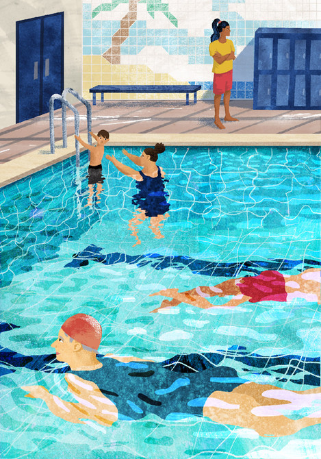 Swimming Pool - Personal Work