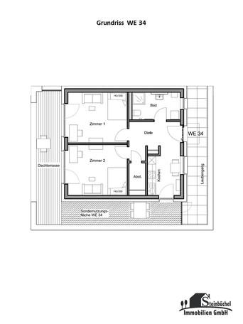 Grundriss Wohnung Nr. 34