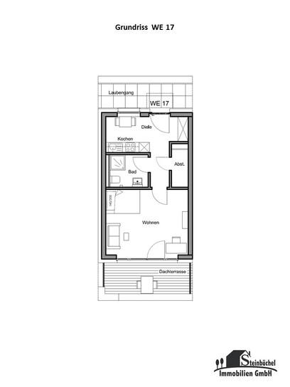 Grundriss Wohnung Nr. 17