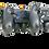 eXtremeRate Dawn Programmierbares Remap Kit für PS4 Controller mit Rückseite Hülle Gehäuse Case&Mod-Chip&4 Rückseiten Tasten-