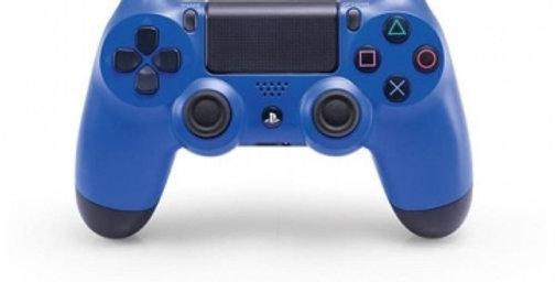 PS4 Dualshock Joypad Wireless Controller, Farbe: Blau, Gebraucht