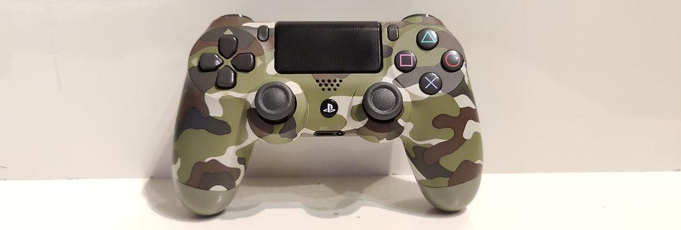 PS4 Dualshock Joypad Wireless Controller, Gebraucht camo grün Design