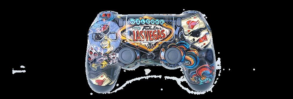 PS4 Custom Rapidfire Controller Pro 2.0 - Las Vegas Unikat
