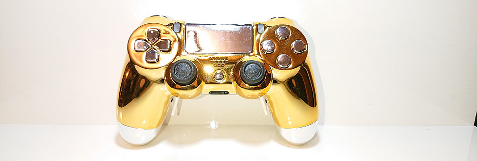 PS4 Custom Rapidfire Controller Pro 2.0 - Gold/Silber