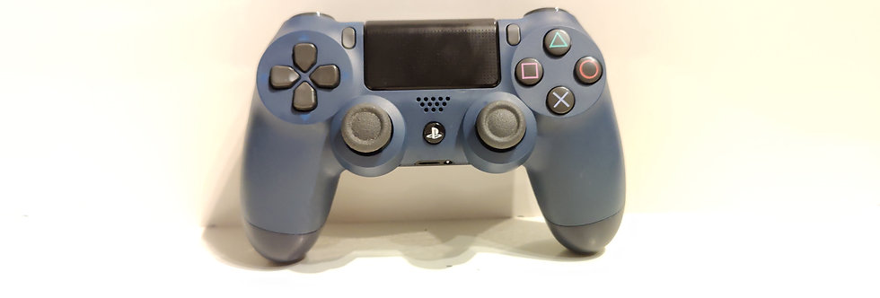 PS4 Dualshock Joypad Wireless Controller, Gebraucht midnight Blue Design