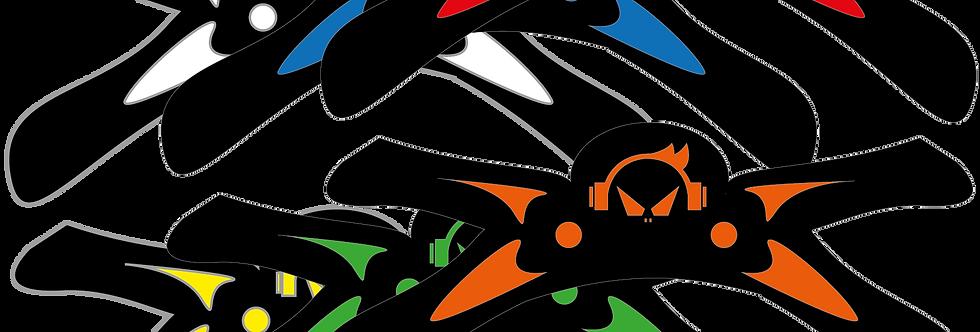 PS4 Controller Paddles X Wings mit Grip in Verschiedenen Farben