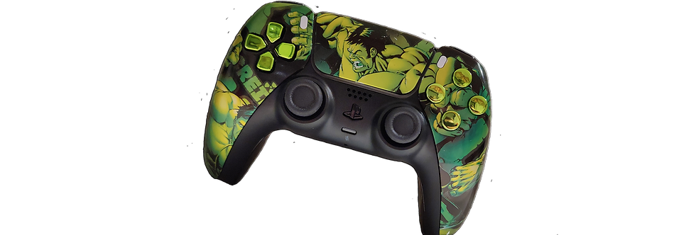 PS5 Custom Controller Pro - Green Monster Elite