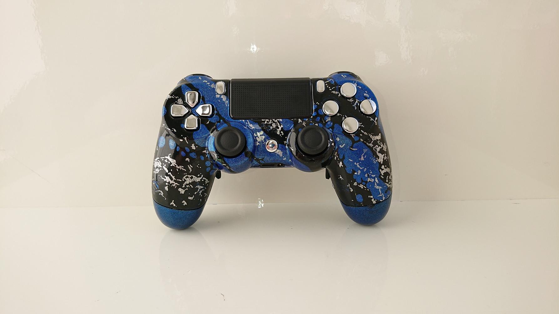 Camoflage Elite Metallic Blau