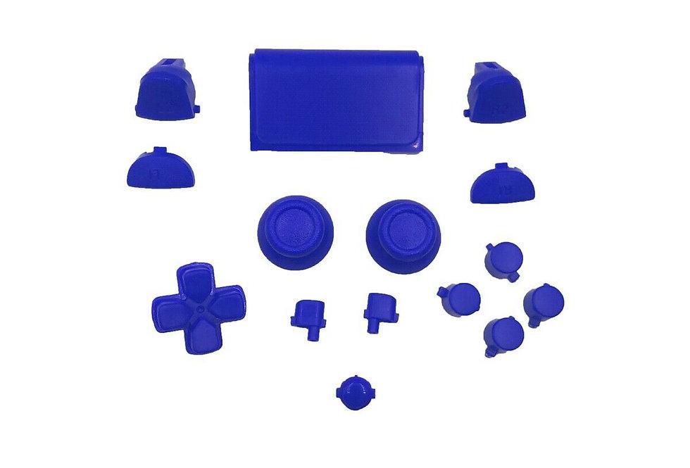 Tasten-Set in matt Blau für Playstation 4 Controller JDM-0