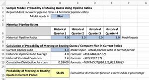 Sample Pipeline Excel Model