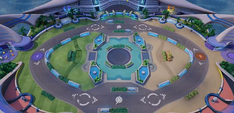 mapa map 4v4 modo de jogo pokemon pokémon unite moba mobas pokelol 4x4