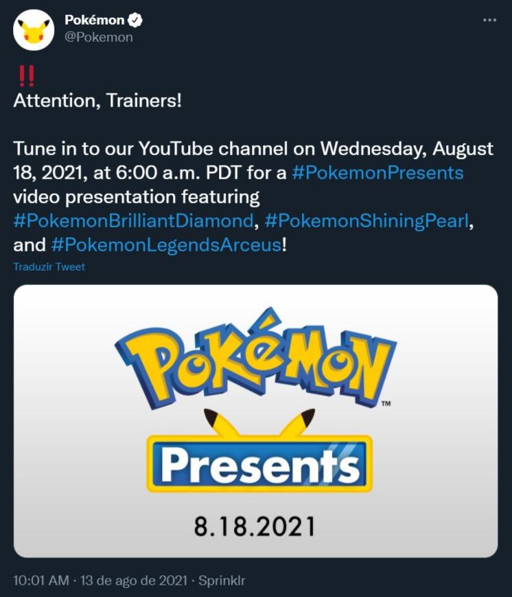 pokemon unite pokémon brasil presents twitter oficial unite pokelol mobile data de lançamento celular