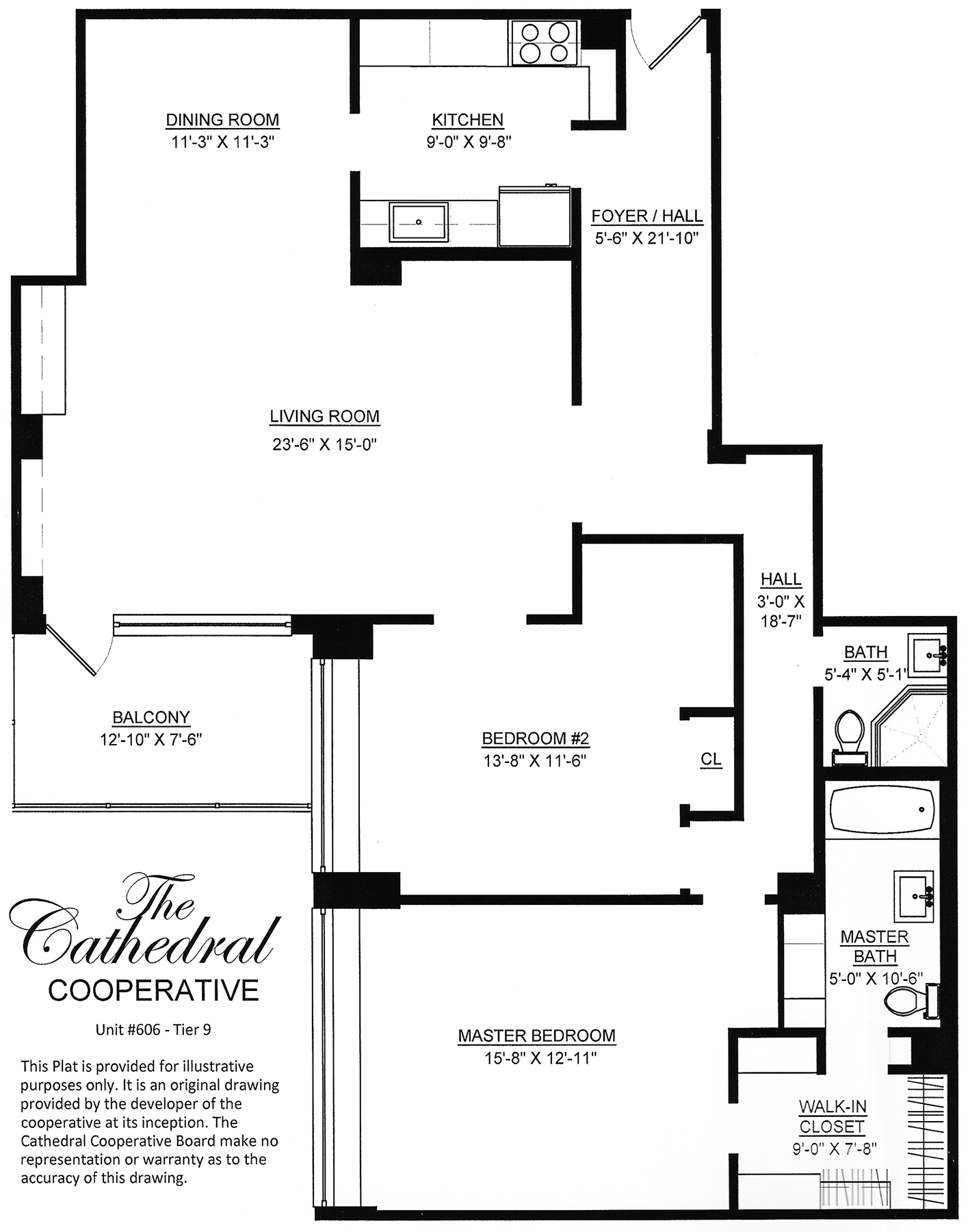 27_Cathedral Cooperative Unit 606 Floor Plan.png