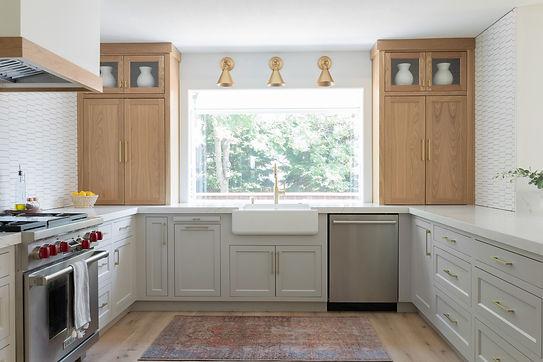 Bright and Open White Kitchen