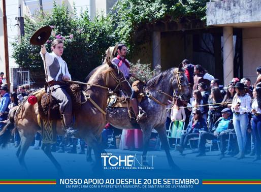 #Desfile 20 de Setembro
