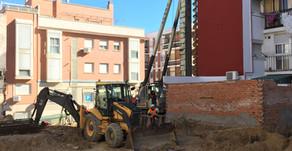 Inicio de las Obras de 15 viviendas en Madrid para EMVS