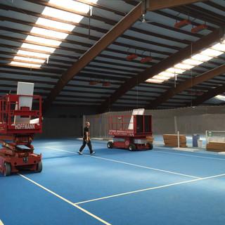 Tennishalle Rot-Weiß Tiengen