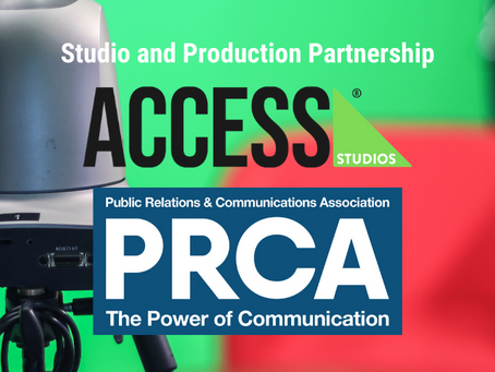 Access Studios revealed as the PRCA's new Studio and Production Partner