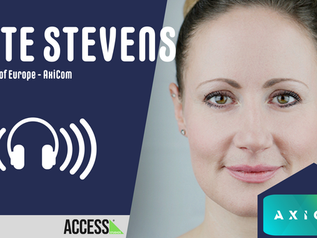 """""""It really has been a perfect storm"""" - Kate Stevens, President of Europe – AxiCom"""