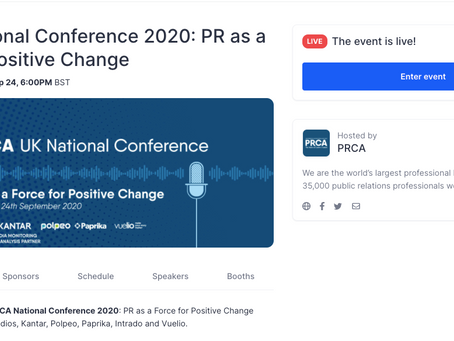 Access Studios delivers PRCA National Conference 2020