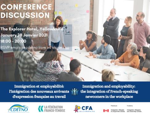 Conférence-discussion portant sur l'intégration et la rétention de la main- d'œuvre immigrante d'exp