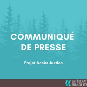 COMMUNIQUÉ DE PRESSE - Lancement de la planification stratégique 2021-2023  du Projet Accès Justice