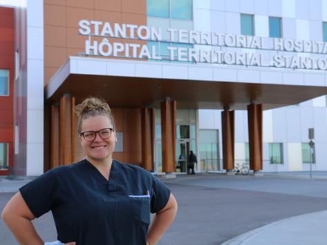 Portrait de Josée Dufour, infirmière en obstétrique à l'hôpital Stanton de Yellowknife