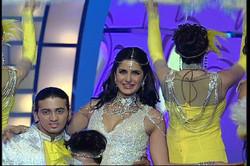 Katrina with Sandesh