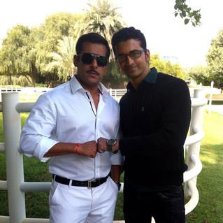 Sandesh Shetty - Salman Khan.JPG