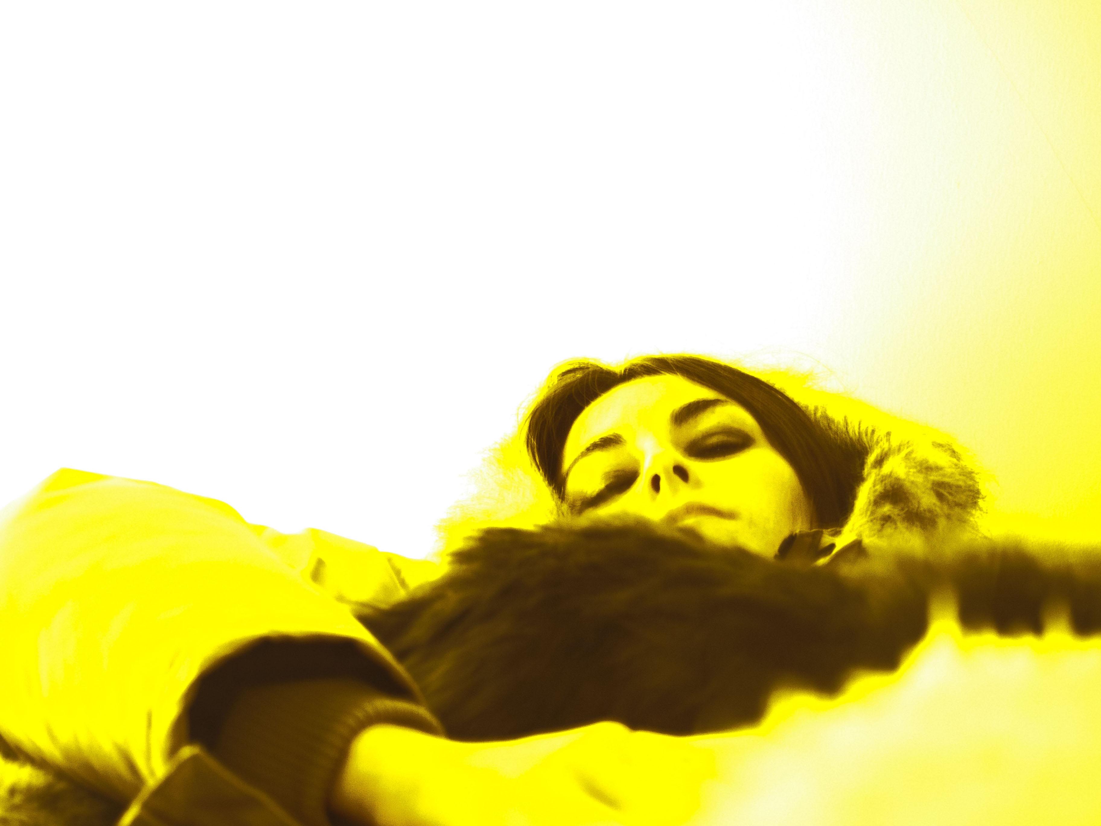 resting her eyes-2013