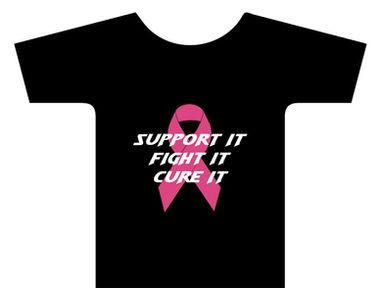 Shirt Designed for Breast Cancer Walk