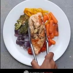 Rainbow Vegetable Chicken