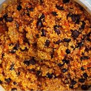 V* Quinoa & Black Bean Vegan Chilli