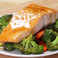 Teriyaki Salmon and Vegetables