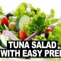 Tuna Salad with Kale/Spinach