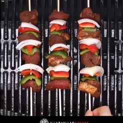 Beef Chicken Skewers