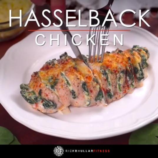 Hassleback Chicken