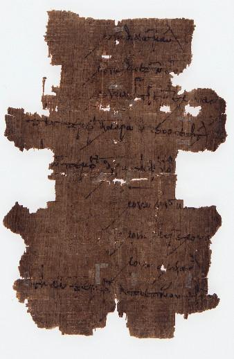 Conservation on Papyrus Fragment (Part 1)