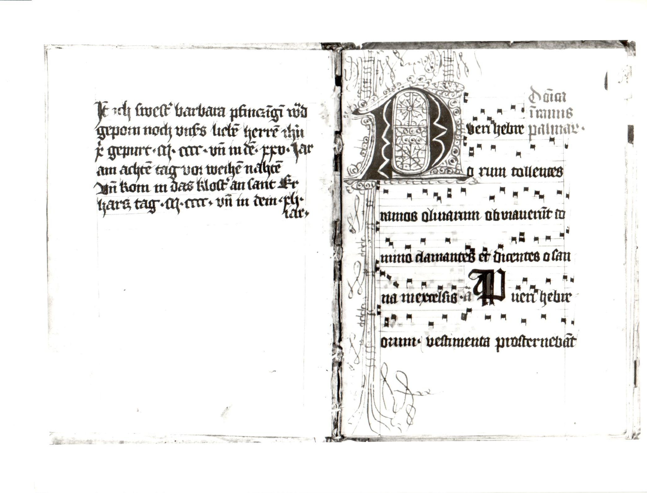 75. Beinecke MS 205 ff i verso -1r
