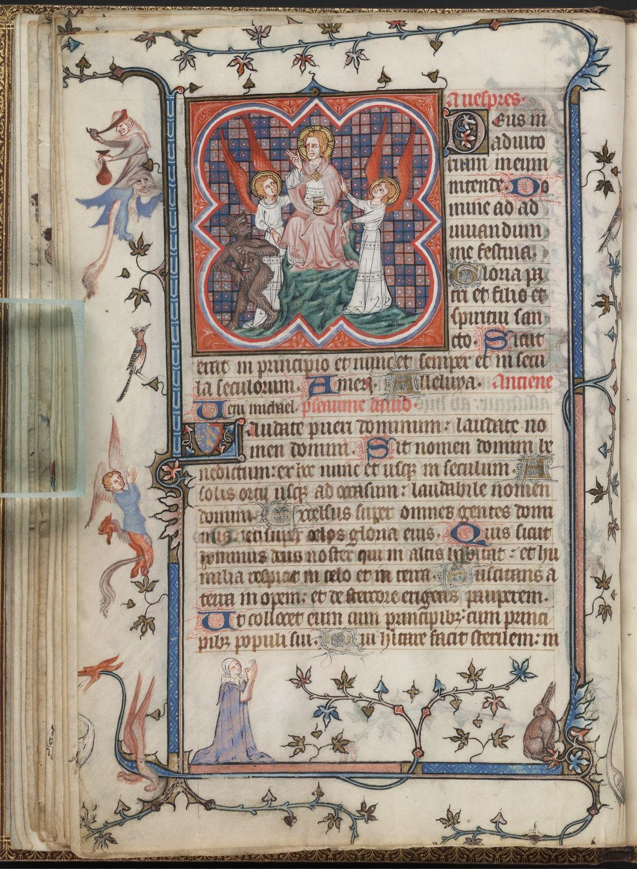 46. Beinecke MS 390, f. 12v (color0